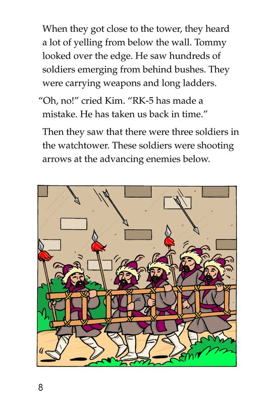 Book Preview For Tommy and the Great Wall Page 8
