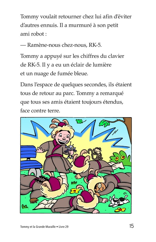 Book Preview For Tommy and the Great Wall Page 15