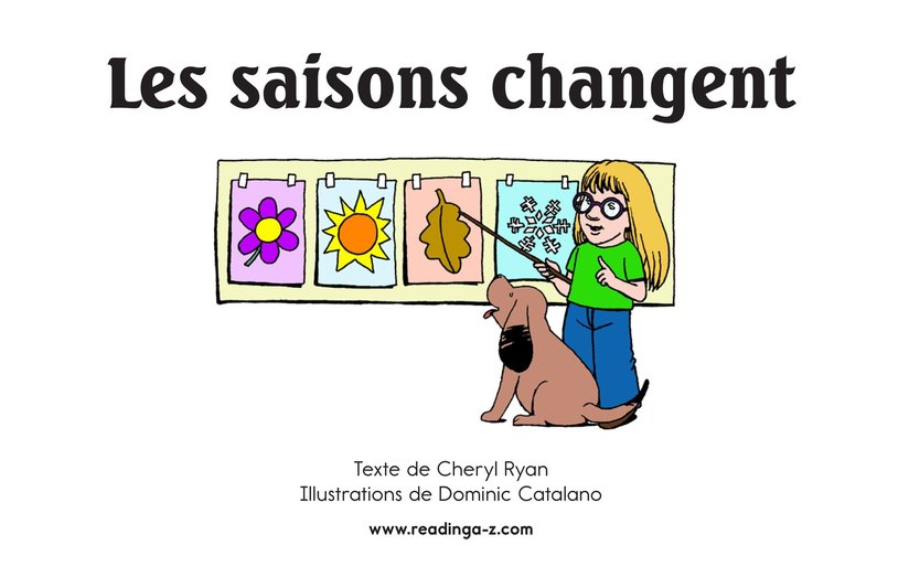 Book Preview For Changing Seasons Page 2