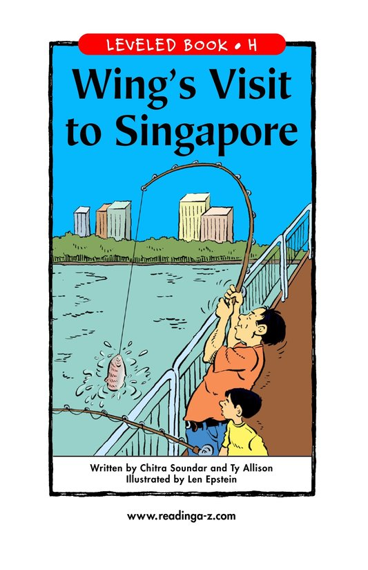 Book Preview For Wing's Visit to Singapore Page 1