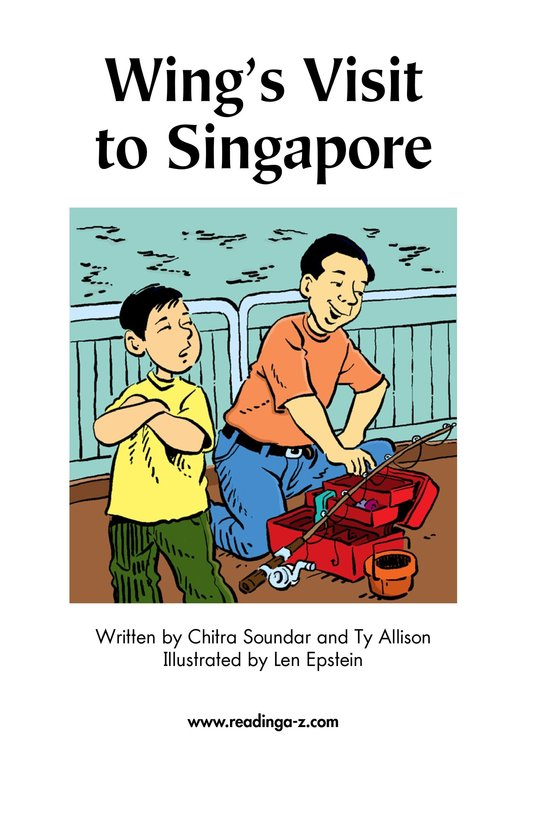 Book Preview For Wing's Visit to Singapore Page 2