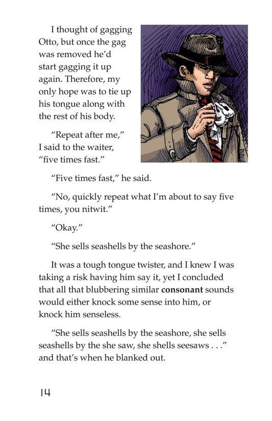 Book Preview For Word Smith, Private I Page 14