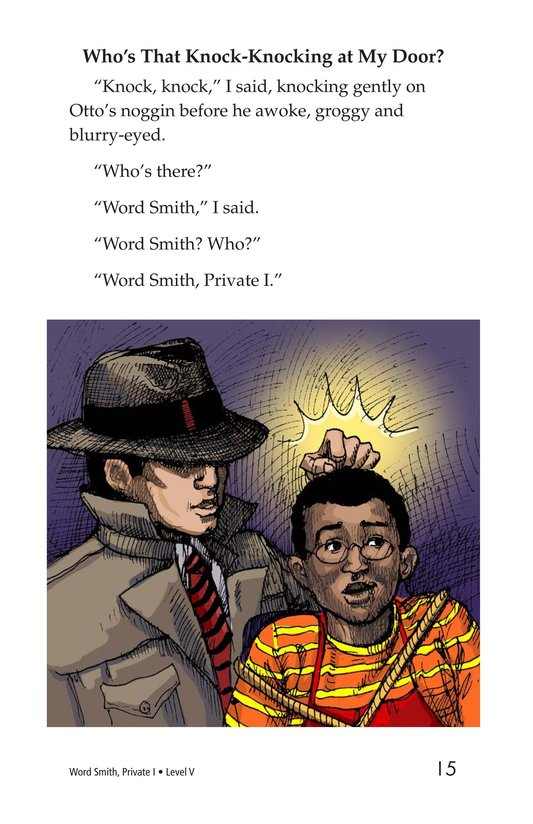 Book Preview For Word Smith, Private I Page 15