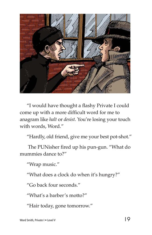 Book Preview For Word Smith, Private I Page 19