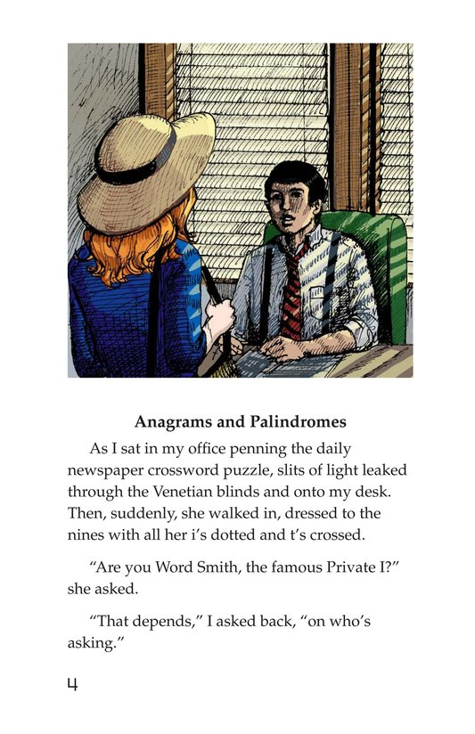 Book Preview For Word Smith, Private I Page 4