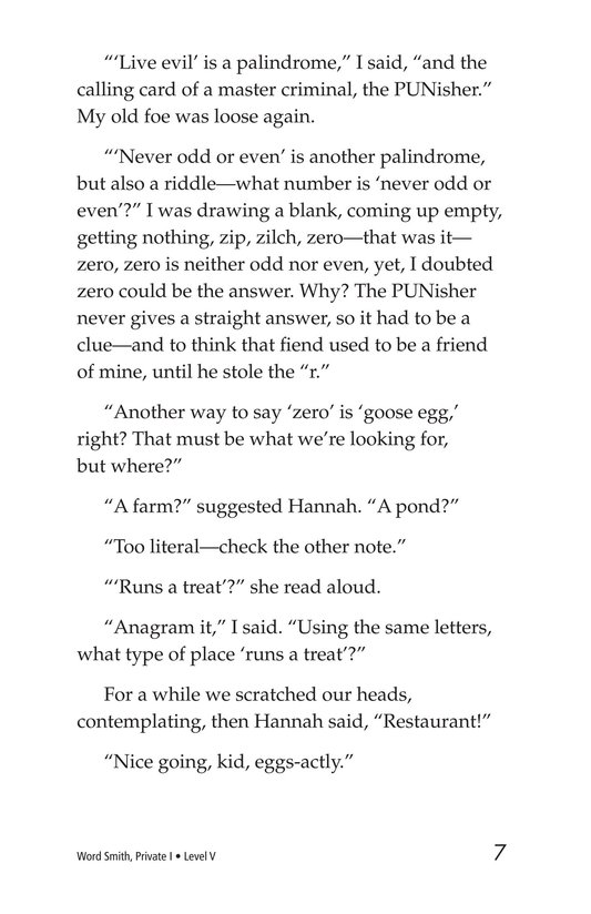 Book Preview For Word Smith, Private I Page 7