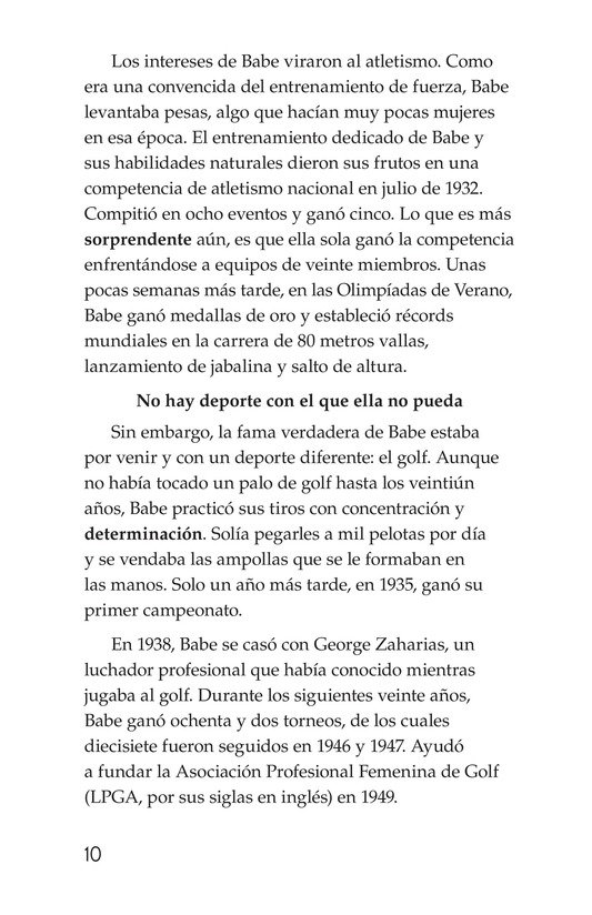 Book Preview For American Sports Legends Page 10