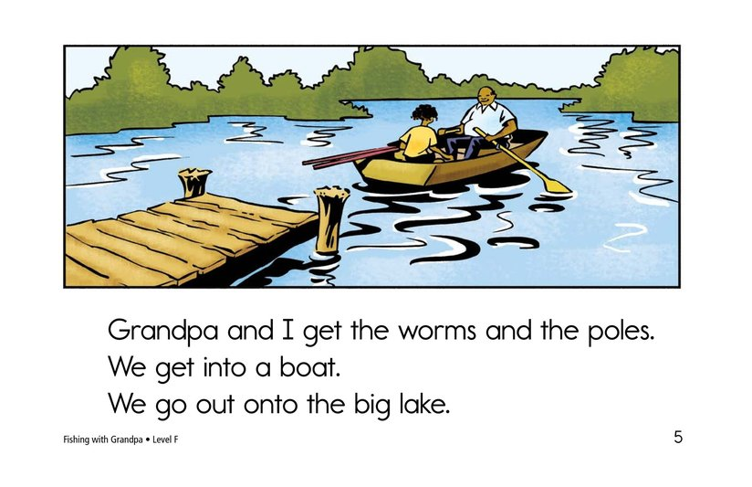 Book Preview For Fishing with Grandpa Page 5