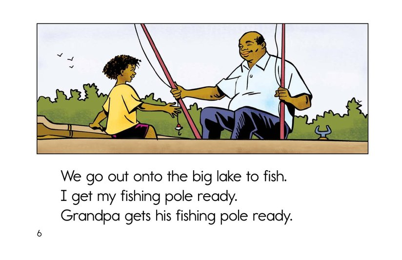 Book Preview For Fishing with Grandpa Page 6