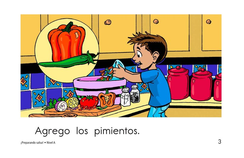 Book Preview For Making Salsa! Page 3