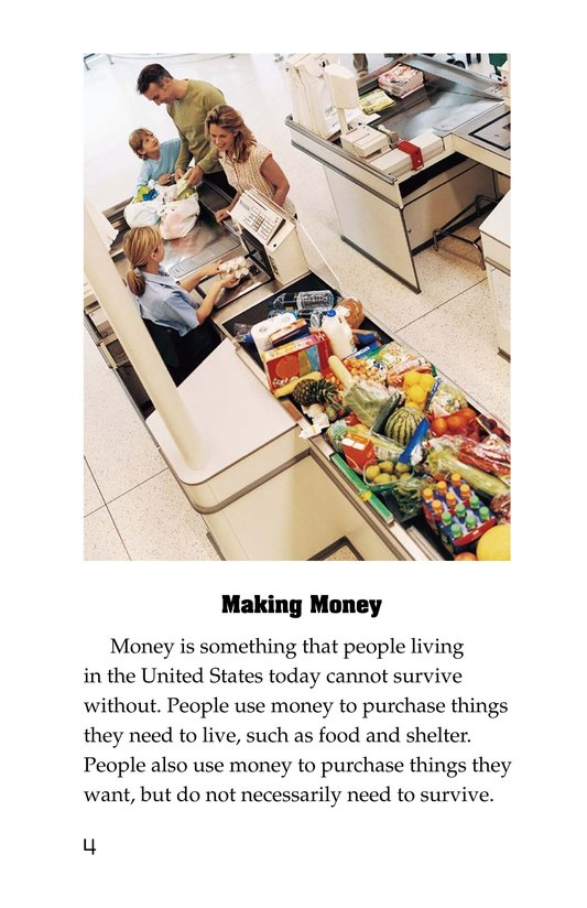 Book Preview For Money in the USA Page 4