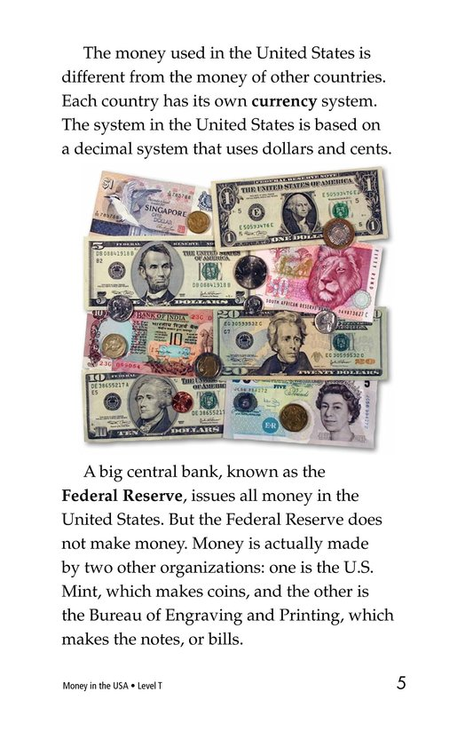 Book Preview For Money in the USA Page 5