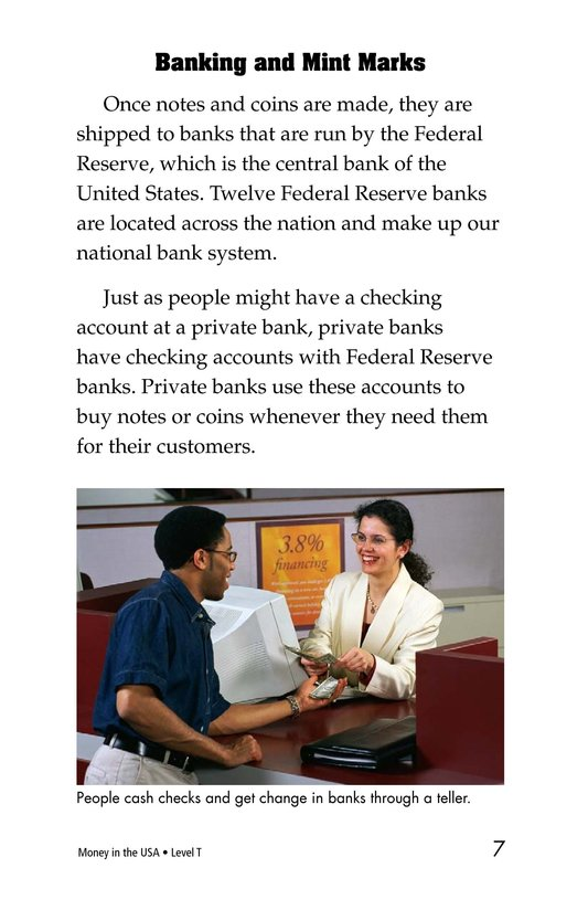 Book Preview For Money in the USA Page 7