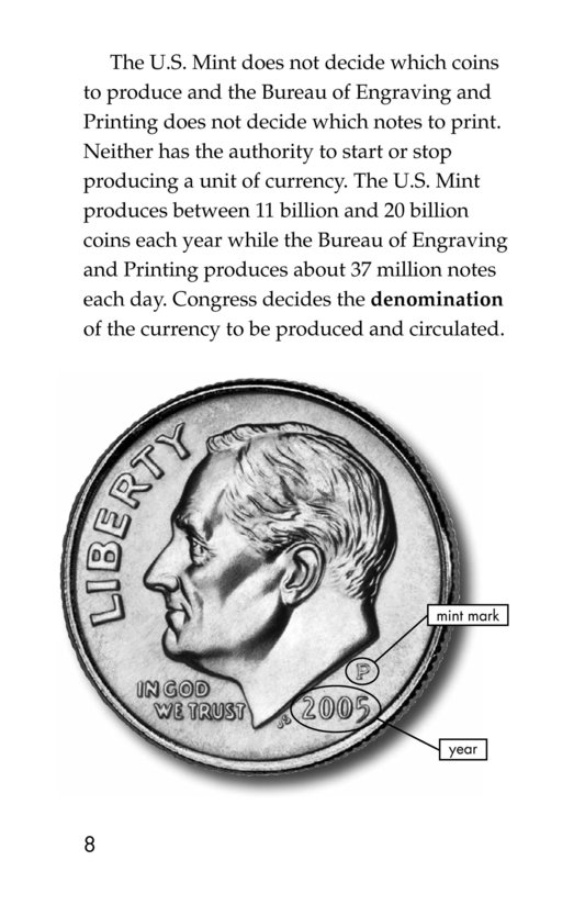 Book Preview For Money in the USA Page 8
