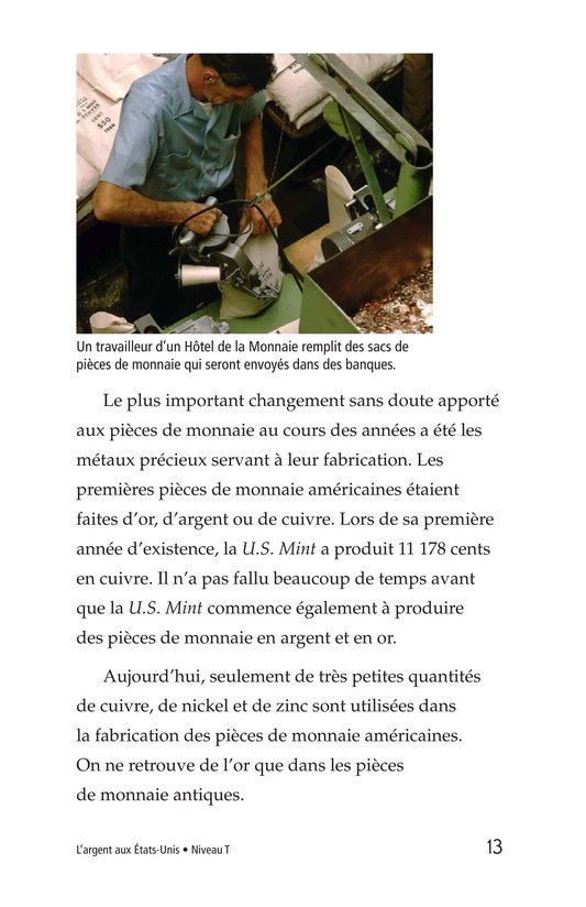 Book Preview For Money in the USA Page 13