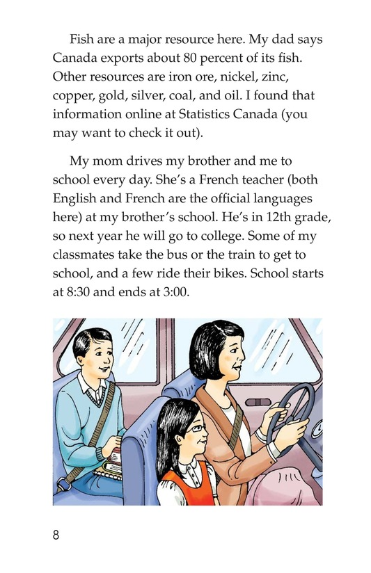 Book Preview For C Is for Canada Page 8