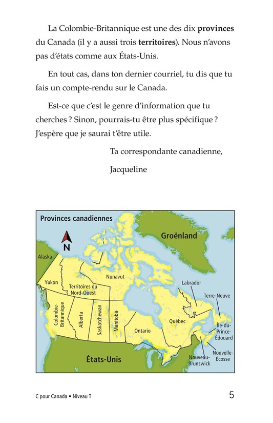 Book Preview For C Is for Canada Page 5