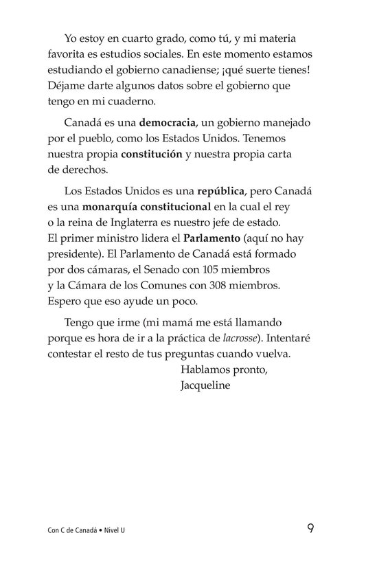 Book Preview For C Is for Canada Page 9