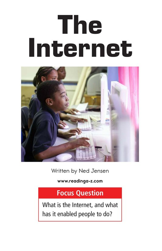 Book Preview For The Internet Page 1