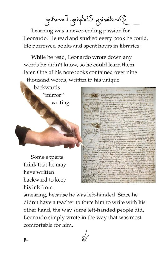 Book Preview For The Legacy of da Vinci Page 14