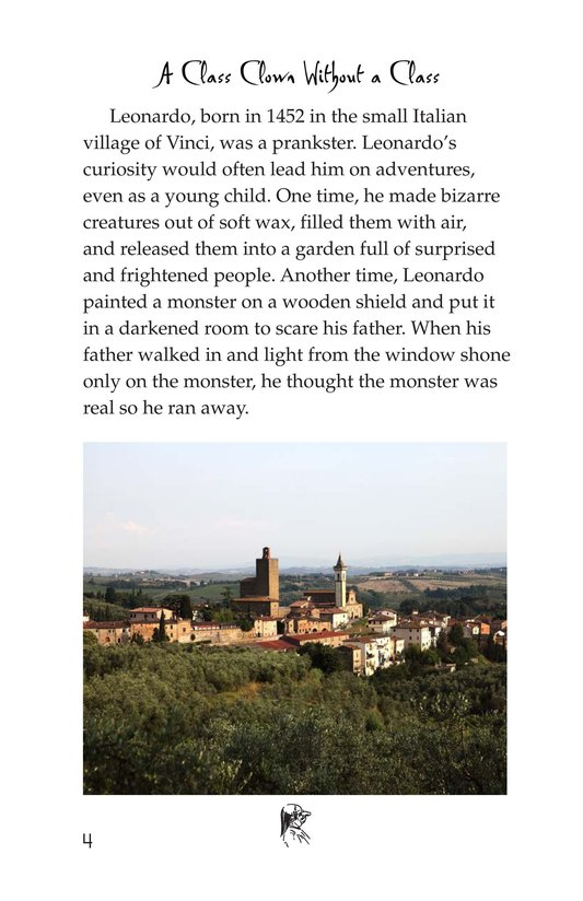 Book Preview For The Legacy of da Vinci Page 4