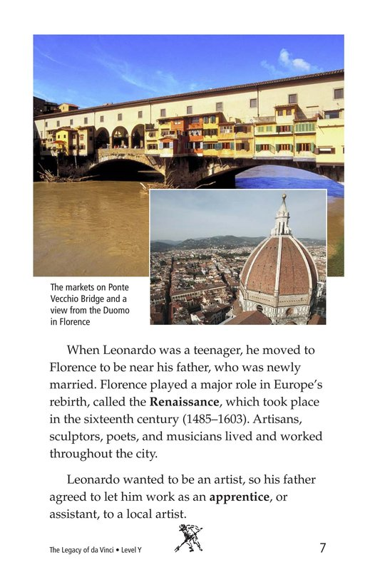 Book Preview For The Legacy of da Vinci Page 7