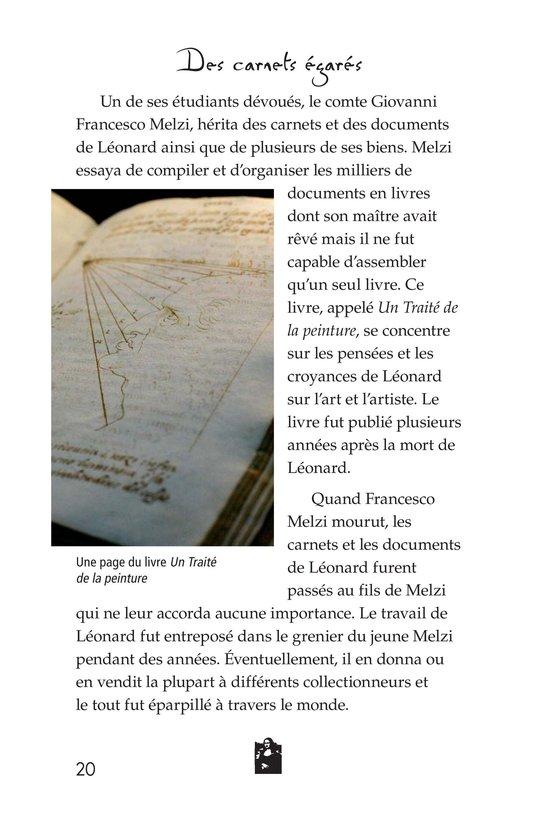 Book Preview For The Legacy of da Vinci Page 20