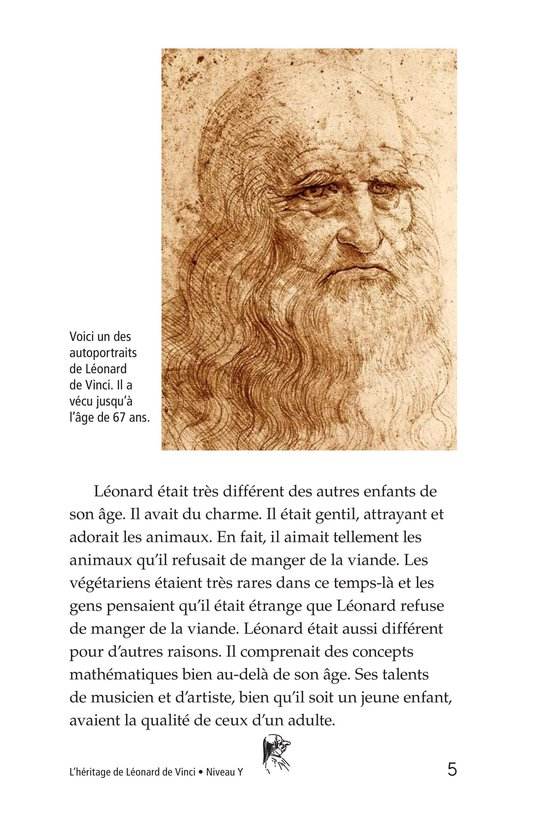 Book Preview For The Legacy of da Vinci Page 5