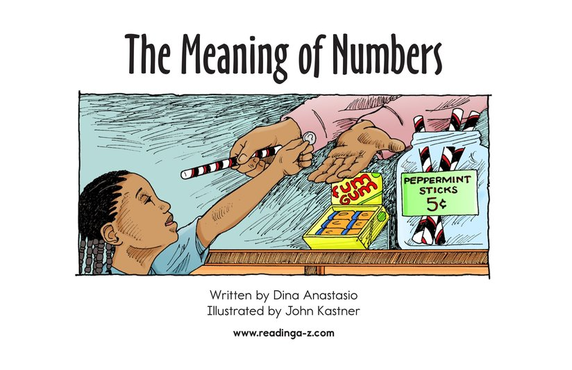 Book Preview For The Meaning of Numbers Page 2