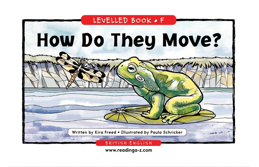 Book Preview For How Do They Move? Page 1
