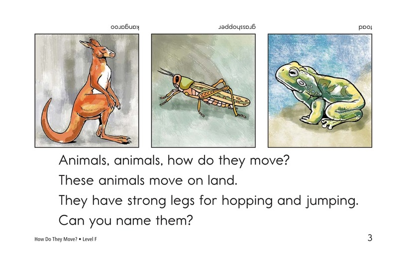 Book Preview For How Do They Move? Page 3