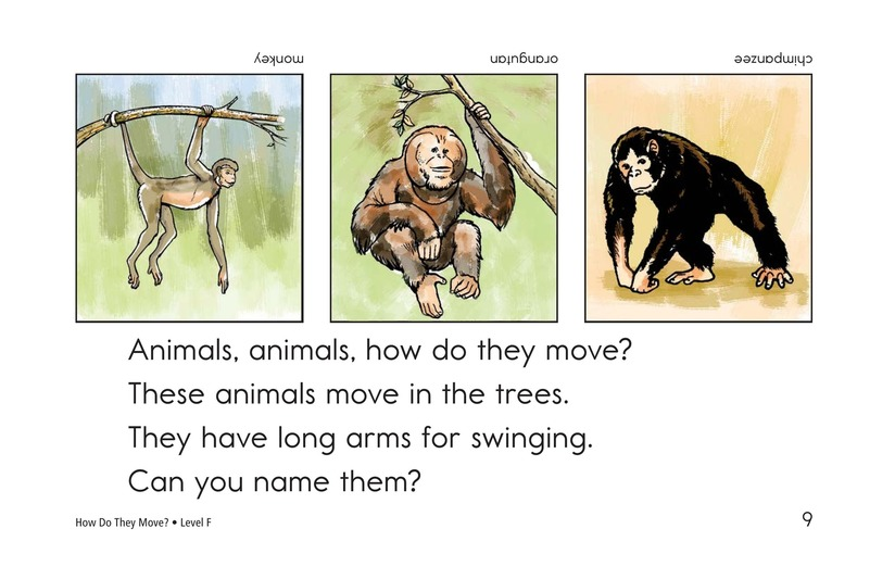 Book Preview For How Do They Move? Page 9