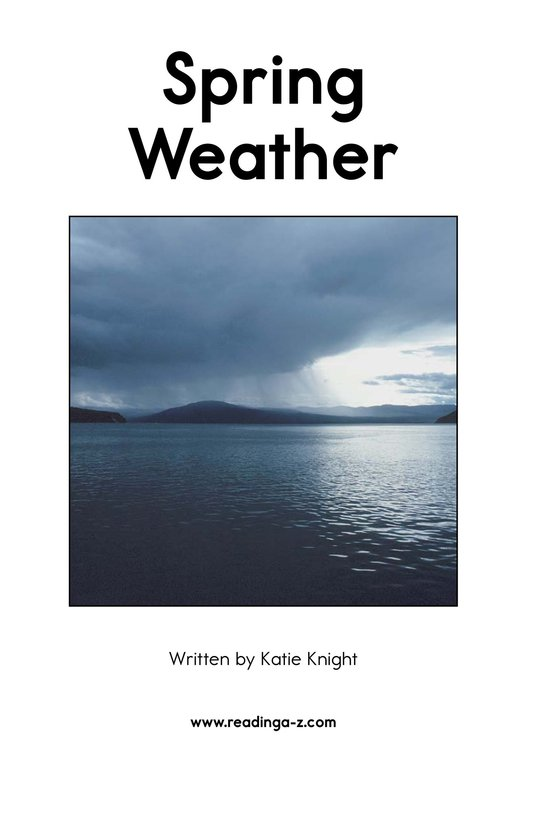 Book Preview For Spring Weather Page 2