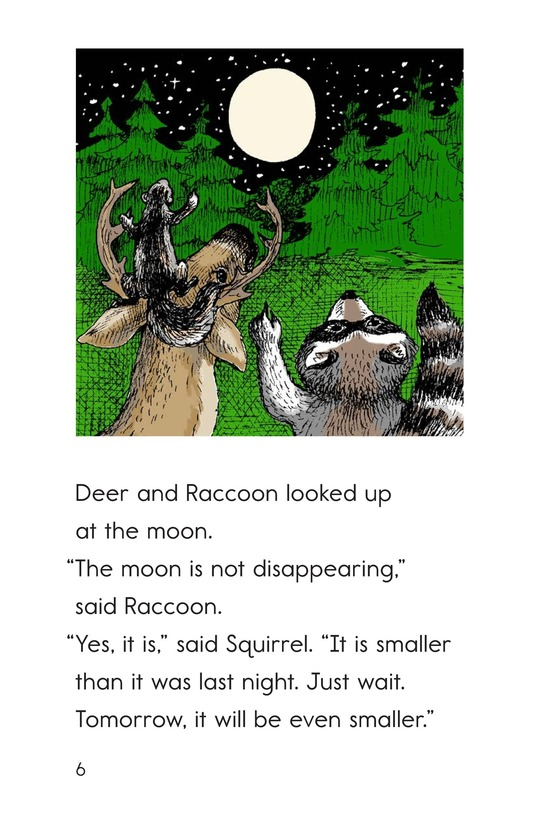 Book Preview For The Disappearing Moon Page 6