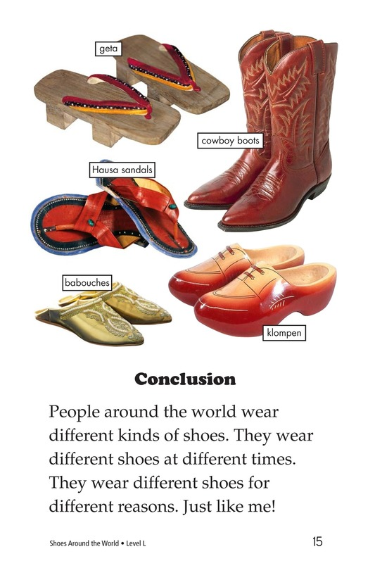 Book Preview For Shoes Around the World Page 15