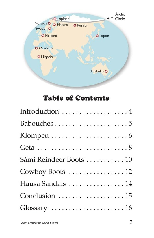 Book Preview For Shoes Around the World Page 3