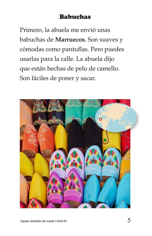Book Preview For Shoes Around the World Page 5