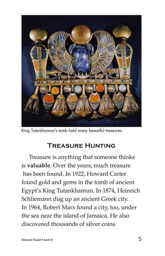 Book Preview For Treasure Found Page 5