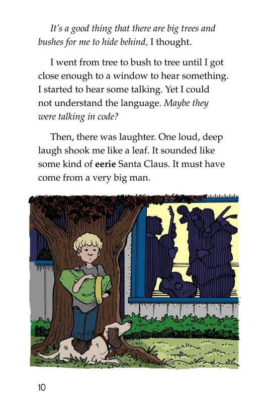 Book Preview For Neighborhood Mystery Page 10