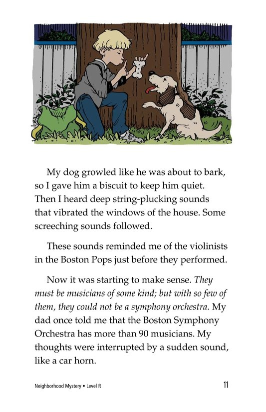 Book Preview For Neighborhood Mystery Page 11