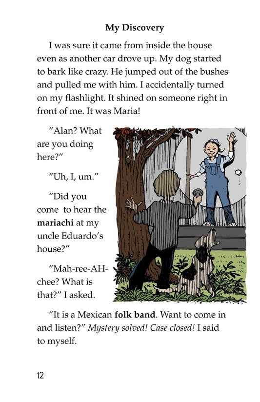 Book Preview For Neighborhood Mystery Page 12