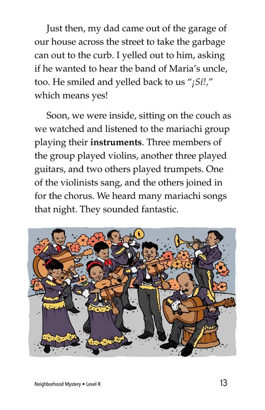 Book Preview For Neighborhood Mystery Page 13