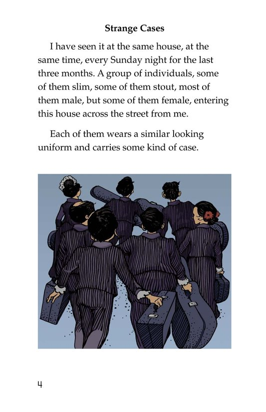 Book Preview For Neighborhood Mystery Page 4
