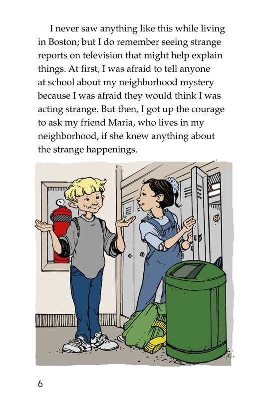 Book Preview For Neighborhood Mystery Page 6