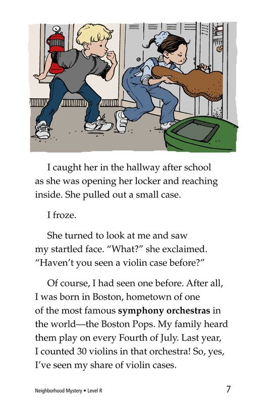 Book Preview For Neighborhood Mystery Page 7