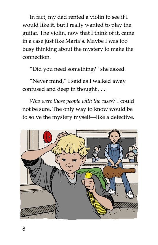 Book Preview For Neighborhood Mystery Page 8