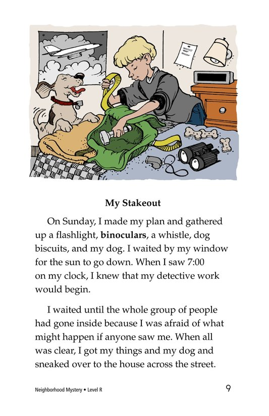 Book Preview For Neighborhood Mystery Page 9