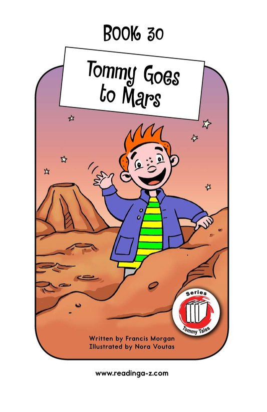 Book Preview For Tommy Goes to Mars Page 1