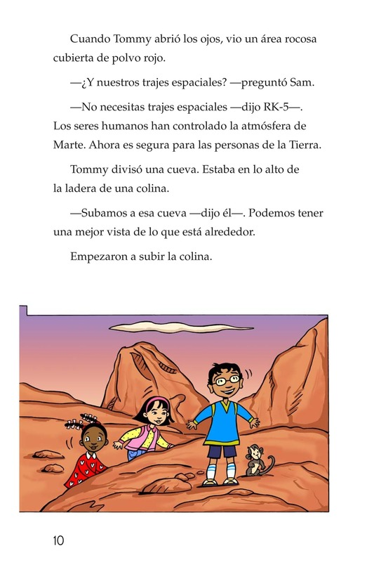 Book Preview For Tommy Goes to Mars Page 10