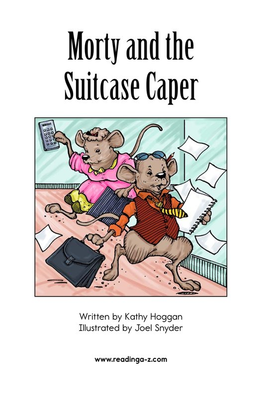 Book Preview For Morty and the Suitcase Caper Page 2